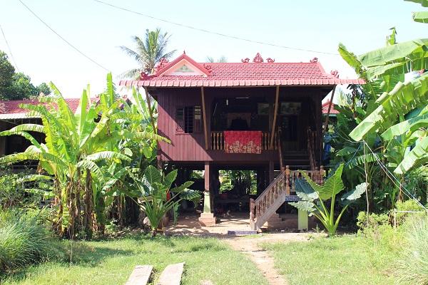 Maison récente - en bois